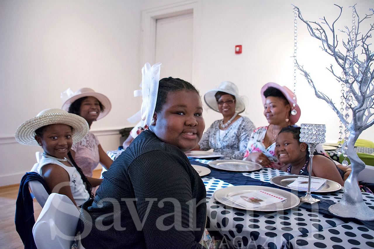 Shavella and Brenda Maxwell, Tequelah Blue, Kahmyll Carter, Tani'ah Jackson,  Brooklyn and Shanelle Carter