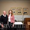Board President Gary Bocard, Lisa Pinyan