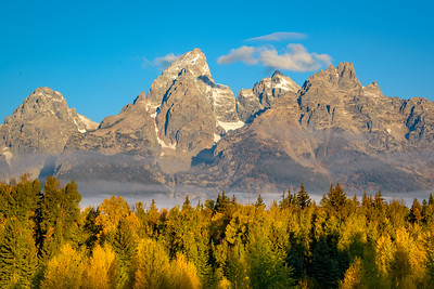 Fall Dawn in the Tetons