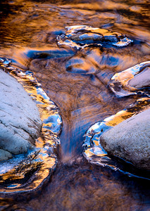 Pine Creek Ice, Zion NP