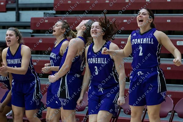 Stonehill vs Jefferson Women's Basketball NCAA Dll Eastern Regional 03/15/2019