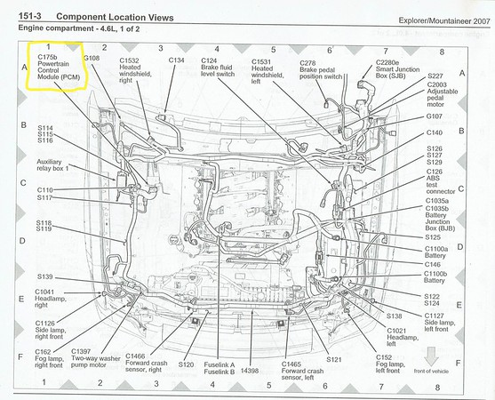 The correct wire on the PCM? | Ford Explorer - Ford Ranger Forums - Serious  ExplorationsSerious Explorations