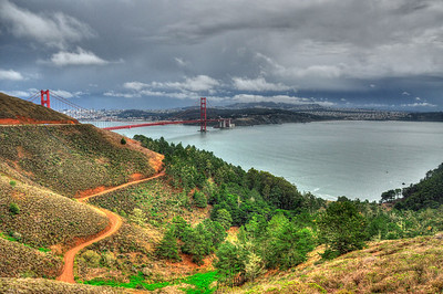 Marin Headlands, San Francisco - Feb 2014