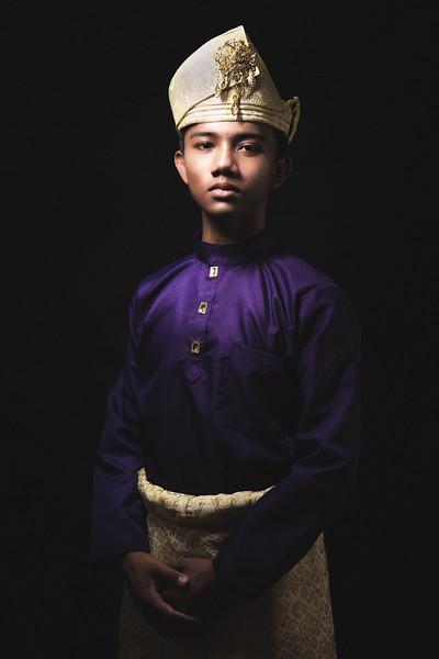 Jawi in Baju Melayu in Baju Melayu