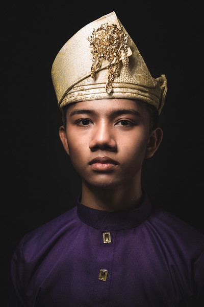 Jawi in Baju Melayu