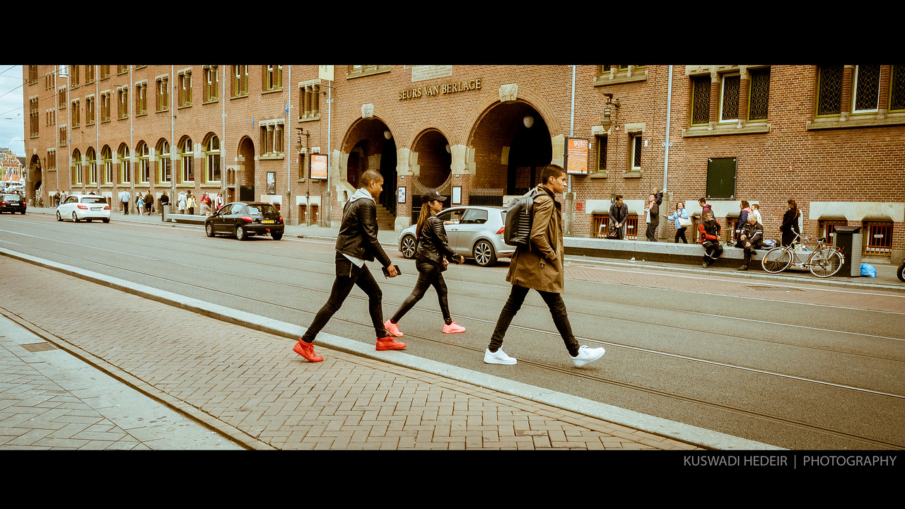 Amsterdam Street - Trio