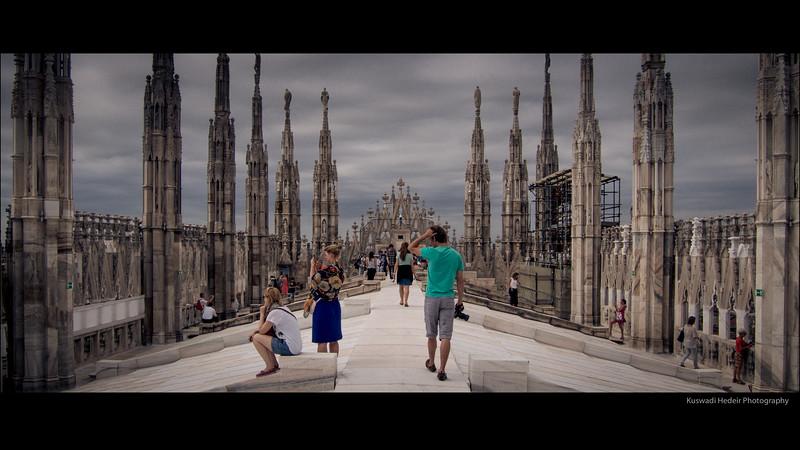 Roof top, Milan