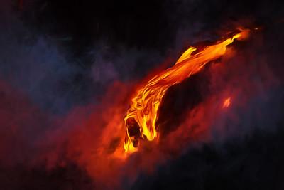 Lava-flow-GeorgiaO'Keeffe-style
