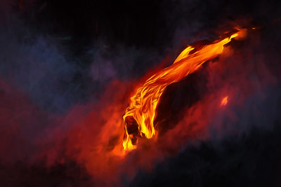 Lava-flow-GeorgiaO'Keeffe-style