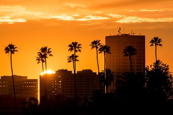 Last light in Santa Monica