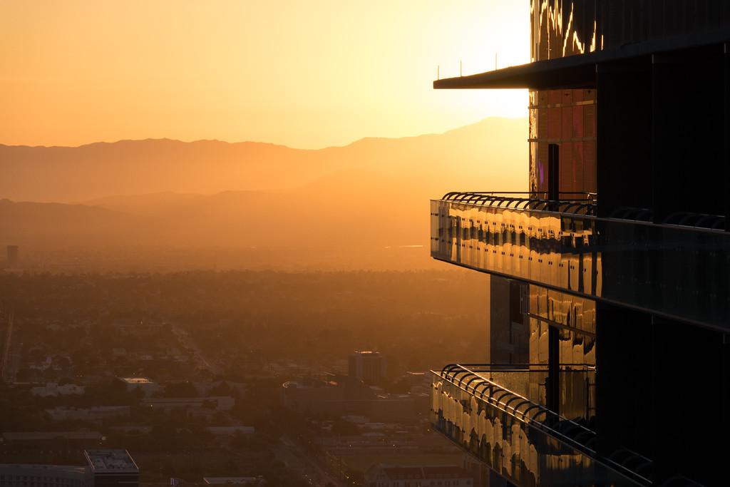 Cosmopolitan Hotel at Dawn, Las Vegas