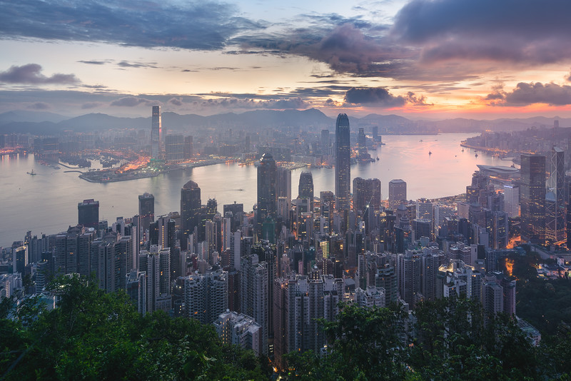 Hong Kong - Victoria Peak Sunrise
