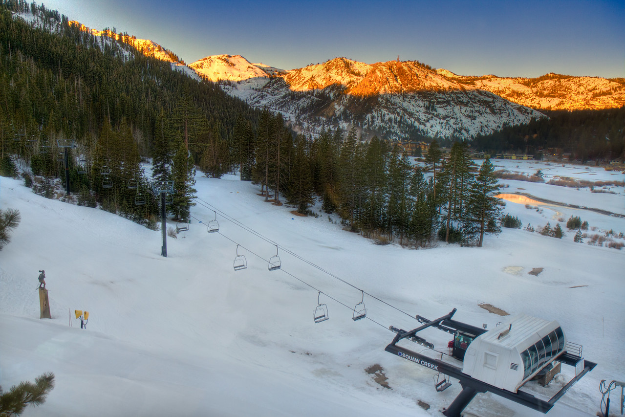 Squaw Valley Sunrise