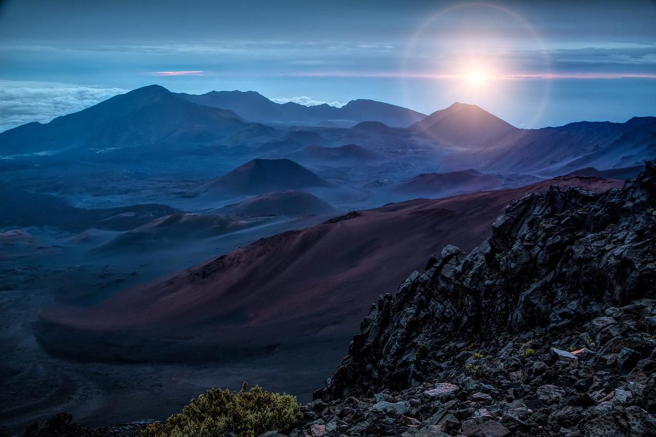 Sunrise on Haleakala