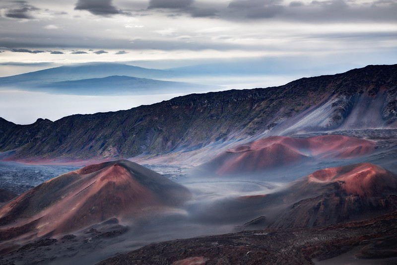 Haleakala crator at sunrise