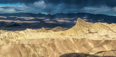 Zabriski Point at Sunrise - Pano 2