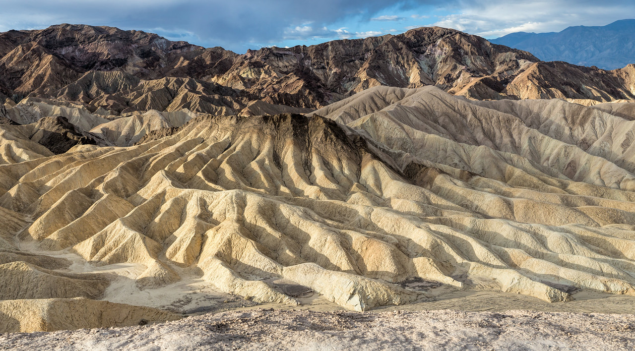 Zabriski Point at Sunrise - Panorama