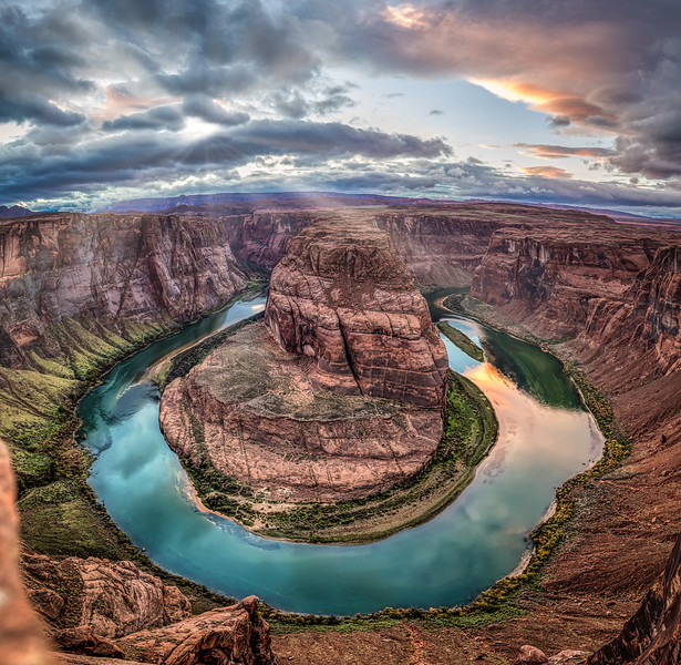 Horseshoe Bend after the Storm