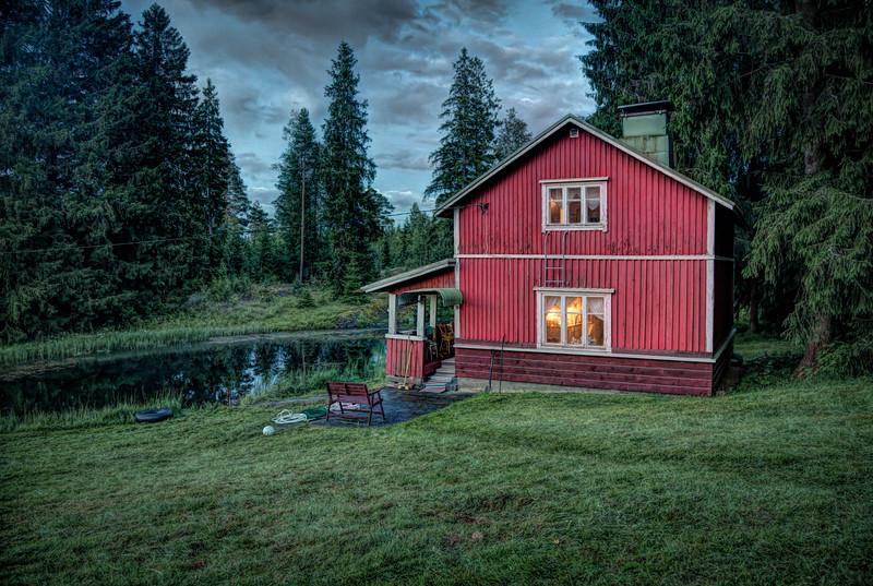 Finnland-Sauna-House