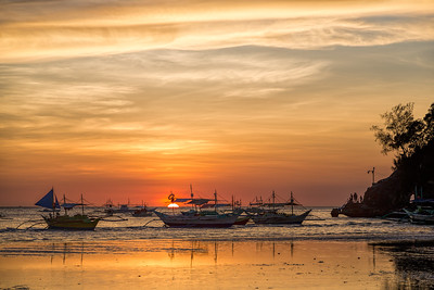 Sunset on Boracay-3
