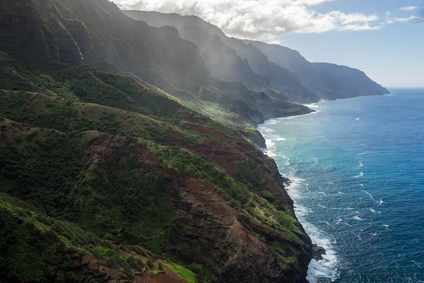 Napali Coastline, Kauai