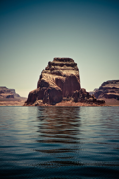 The Rock - Lake Powell, Utah