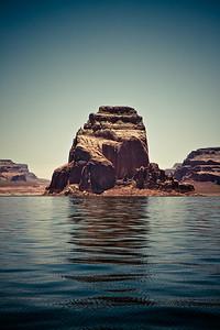 The Rock - Lake Powell, Utah