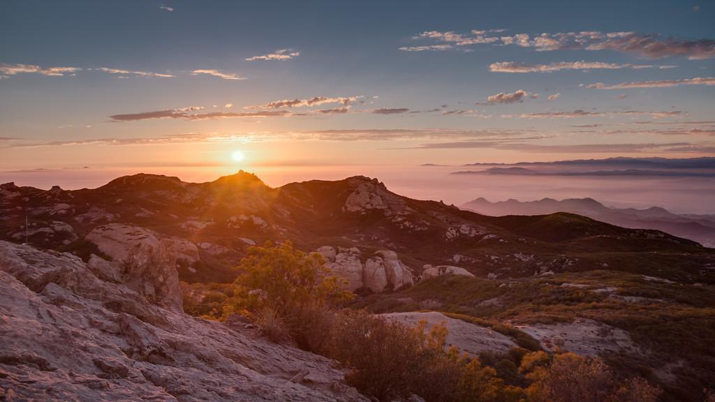 Sandstone Peak, California