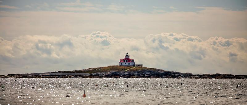 Lighthouse, Frenchman Bay, near Bar Harbor, Maine