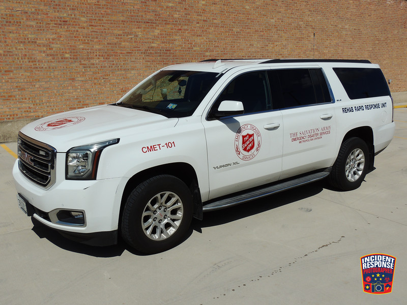Chicago Salvation Army EDS Rehab Rapid Response Unit