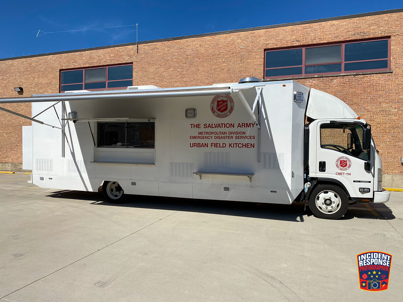 Chicago Salvation Army EDS Urban Field Kitchen