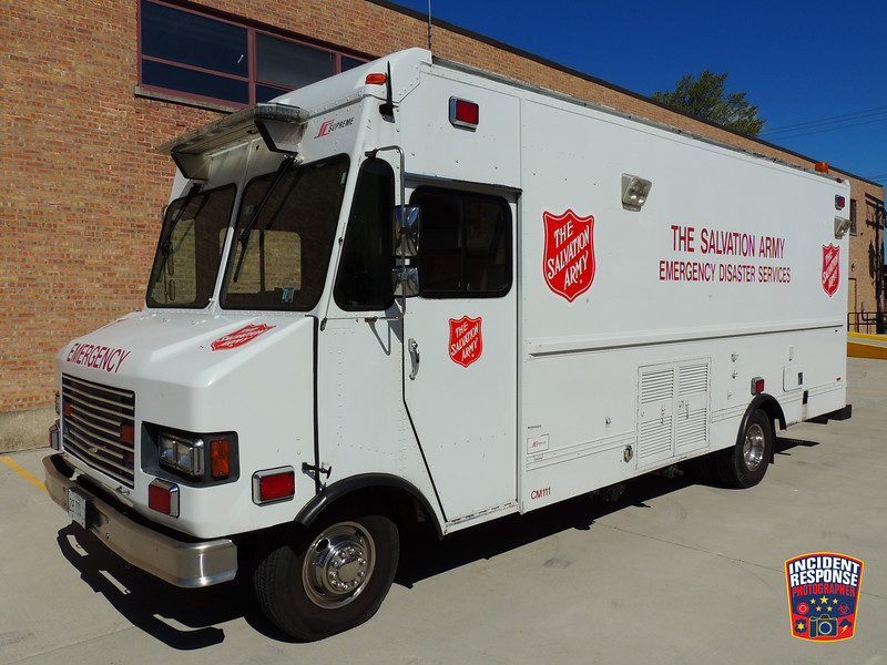 Chicago Salvation Army EDS Canteen