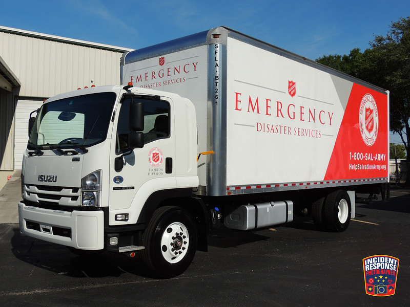 Salvation Army Emergency Disaster Services (EDS) Florida Division