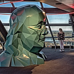 Ben Franklin Sculpture, Observation Deck 2