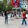 Love Sculpture. Cell Phone Photography