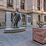 Octavius Catto Statue, Pedestrian