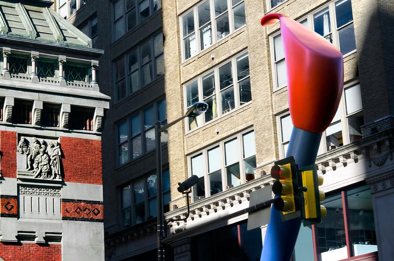 Claes Oldenburg's - Paint Torch (2010)