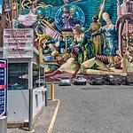 Parking Lot, Mural Art