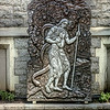 The Snake, the Garden, Adam, Eve