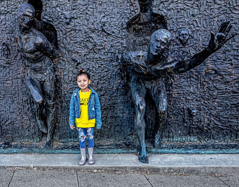 Ava Next to Freedom Sculpture