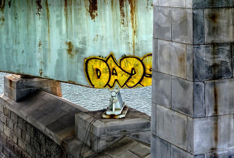 Schuylkill River Bridge Graffiti