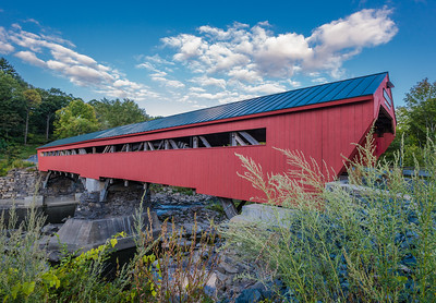 Authentic Covered Bridge - Taftsville, VT