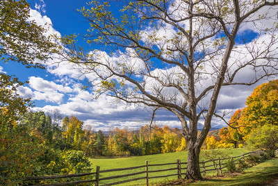 Autumn on Galaxy Hill Road - Pomfret, VT