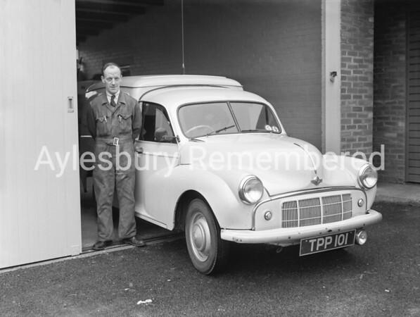 Ambulance Station, Dunsham Lane, Jan 1957
