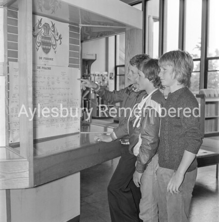 Family Tree Exhibition at County Library, Aug 1978