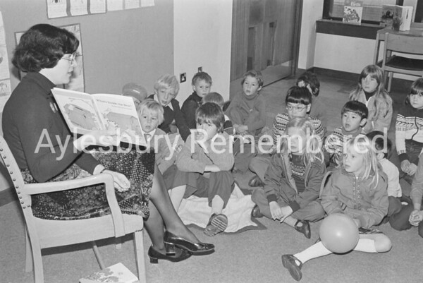 Storytime at County Library, Oct 1978
