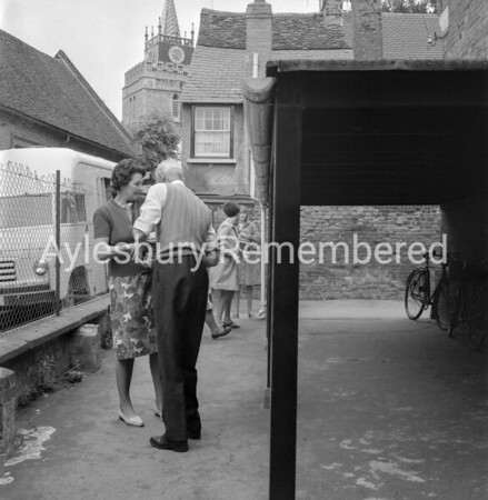 County Library moving from Pebble Lane, June 6th 1966