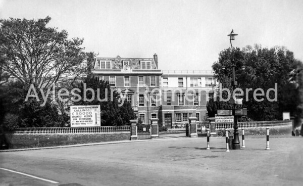 Royal Bucks Hospital, 1937