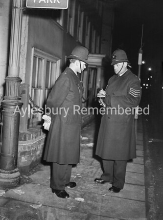 On the beat in Aylesbury, Mar 1st 1956