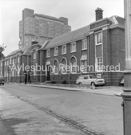 Old Police Station in Exchange Street, Oct 11th 1966